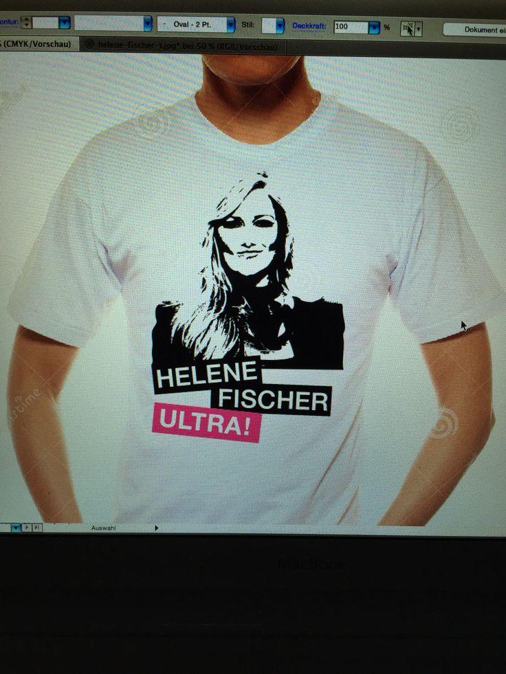 Helene Fischer Tshirt.  Bei Interesse melden!