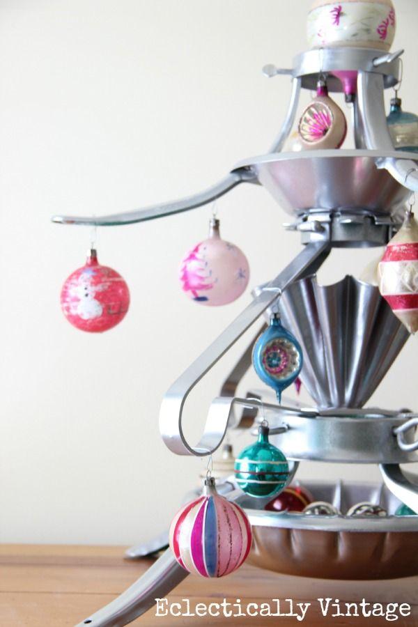Christmas Tree Stand Christmas Tree created with Krylon spray paint! #Christmas #Tree!