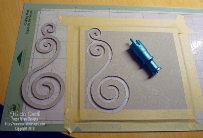 How to cut grunge board with Cricut
