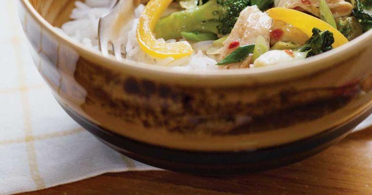 Fondue chinoise en sauté (Pour les restes de viande, de légumes, de bouillon et de sauce)