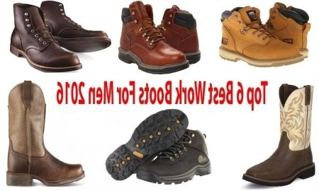 Awesome Most Comfortable Work Boots For Men Desirable