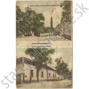 Dolný Pial, Alsópél.. stará pohľadnica