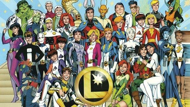 legião de super heróis