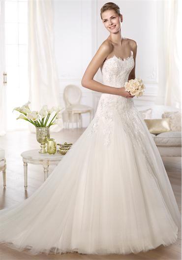 Pronovias Oberti- ideal wedding dress