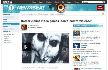 Violent Video Games Don't Lead to Increases In Violent Crimes, Study Finds