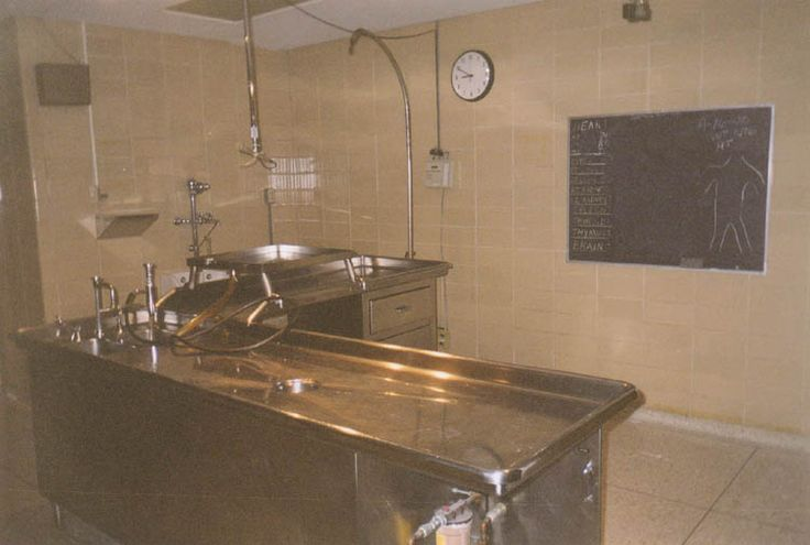 Medical Center -- Morgue and Autopsy Room