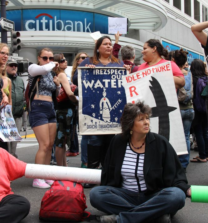 Tell Edward Skyler, Citi's Executive Vice President of Global Public Affairs that Citi must respect Indigenous rights and stop funding environmental destruction and human rights abuses now!