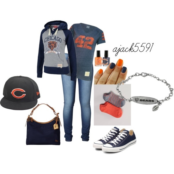 Chicago Bears Tailgate hottness: Bears Outfit, Football Seasons, Bears Games, Day Outfit, Chicago Bears Baby, Bears Football, Bears Tailgating, Bears Style, Da Bears