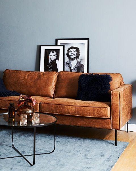 Modern Chic In Diesem Wunderschonen Wohnzimmer Stimmt Einfach Jedes