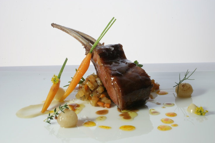 ABaC Restaurant - Chef Jordi Cruz: Baby goat shoulder with Ragú