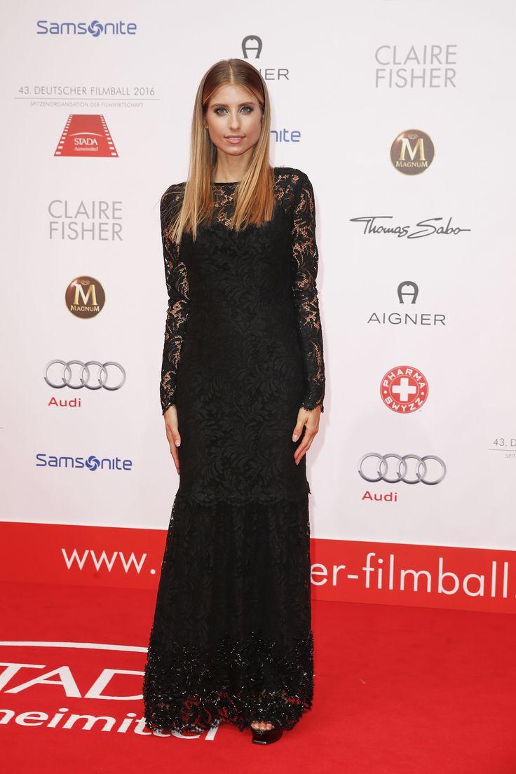 Cathy Hummels beim Deutschen Filmball in München