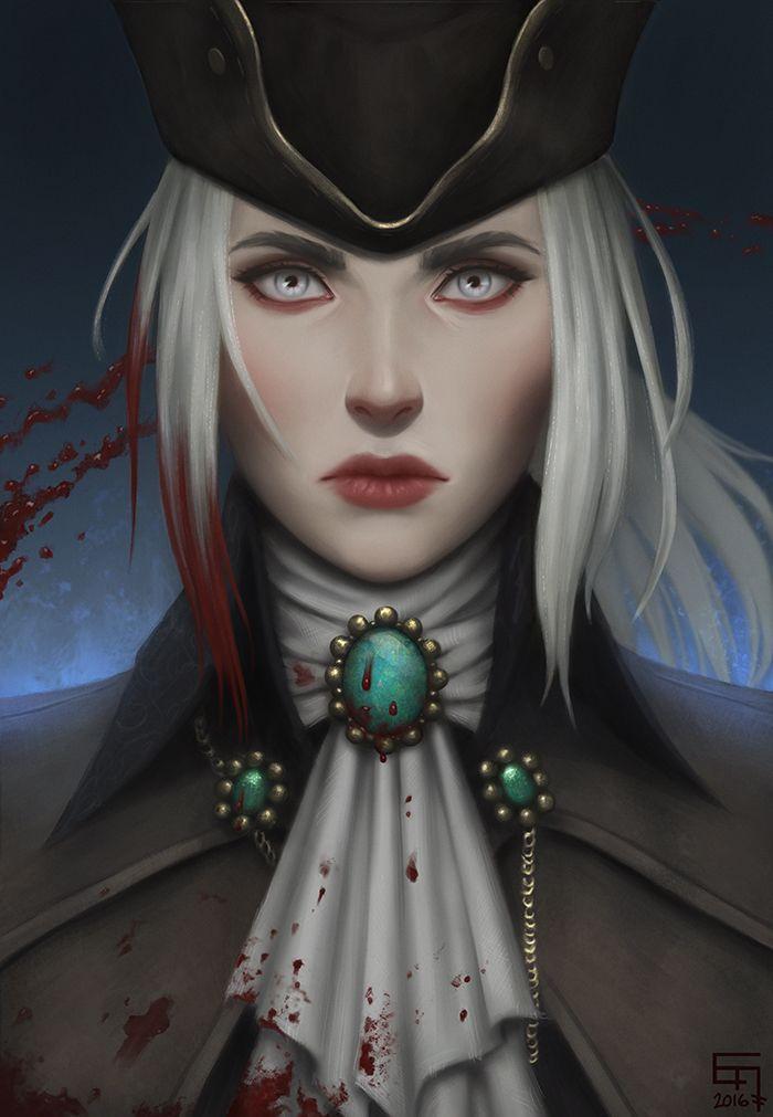 Lady Maria by Ejve   Games and Art em 2019   Bloodborne ...