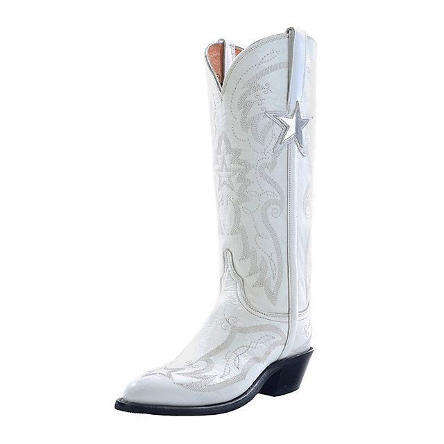 Dallas Cowboys Lucchese Womens Official Cheerleader Boot - Width B | Cheerleaders | Other Accessories | Accessories | Cowboys Catalog | ShopCowboys