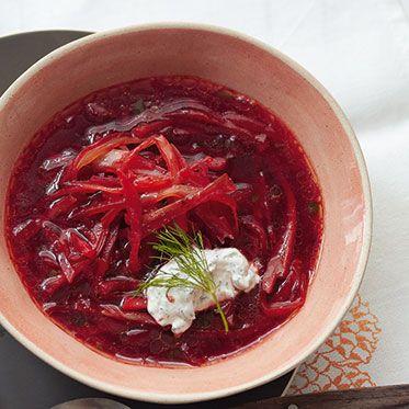 Vegetarischer Borschtsch Rezept | Küchengötter
