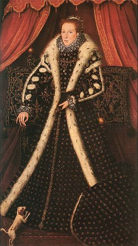 Full-length portrait of Frances Sidney, Countess of Sussex, who served as Lady of the Bedchamber to Queen Elizabeth I.