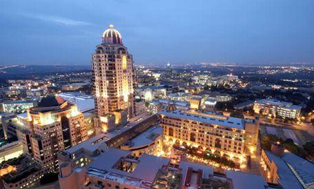 Sandton - Johannesburg - South Africa's financial hub. #Sandton