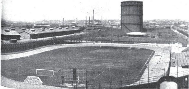 Estadio de Huracán (circa 1933).