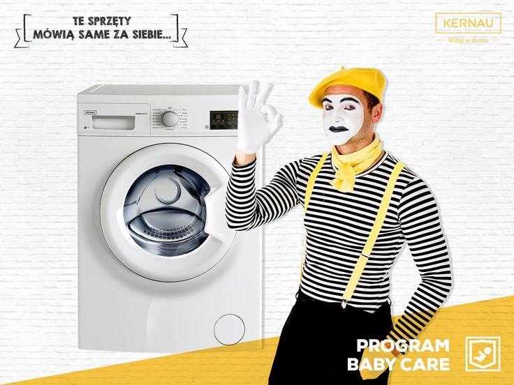 Wiemy, że bycie rodzicem to wyzwanie, dlatego chcemy Ci pomóc! Nasza pralka ma specjalnie opracowany program do prania dziecięcych ubranek. To właśnie dzięki niemu zmniejszysz ryzyko podrażnień i alergii u swoich pociech ♥: http://bit.ly/Kernau_KFWM654103