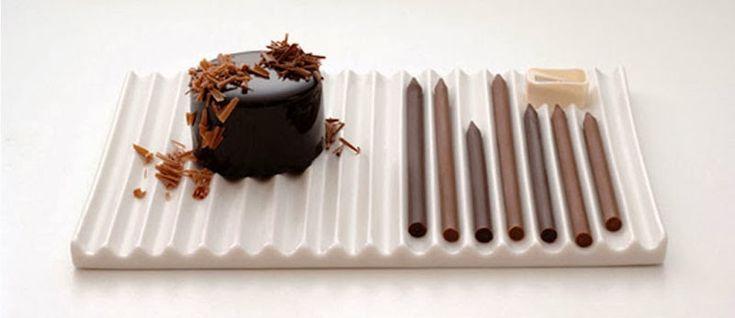 Los lápices de chocolate de Nendo y Tsujiguchi Hironobu