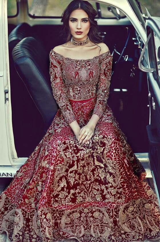 Farah Fatima couture Pakistani bridal