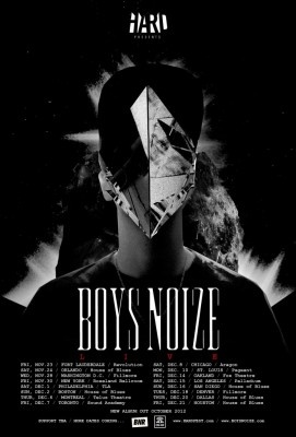 Boys Noize Dec 7th at Sound Academy.