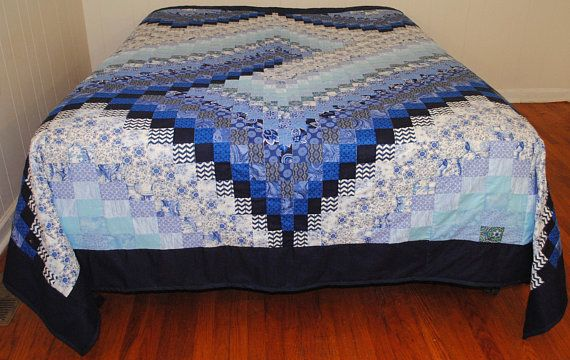 Handmade Quilts For Sale Bargello Queen Quilt Shades Of Blue Bargello Quilt Handmade 2 Queen Size Quilt Blue Quilts Bargello Quilt