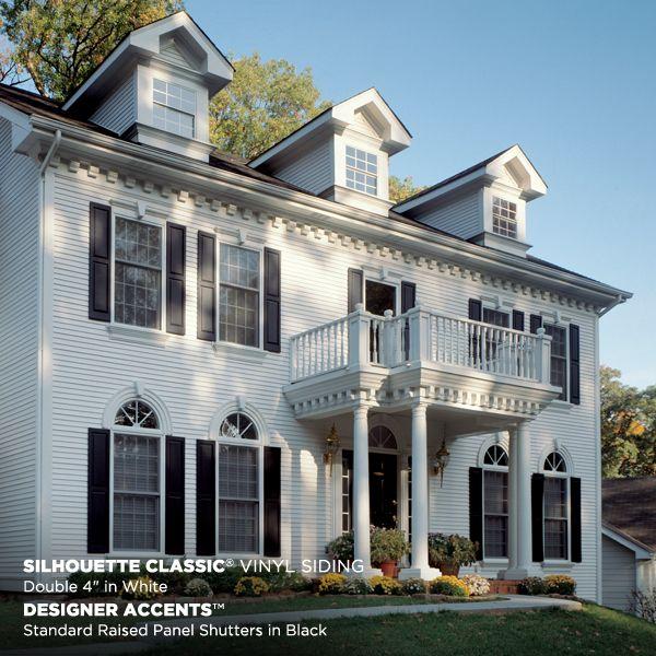Silhouette classic mastic home exteriors vinyl siding southeastern ma rhode island cape cod - Mastic home exteriors ...