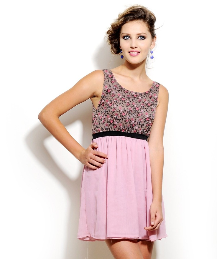 #FloralDress by Corsage. http://www.mydesignersales.com/designers-2/corsage/floral-dress-by-corsage-985.html