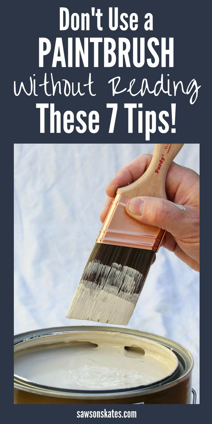 Best Way To Clean Paint Brushes Cleaning Paint Brushes Learn