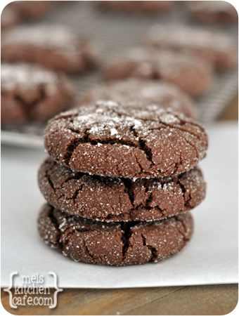 Soft Chocolate Sugar Cookies Recipe recipes dessert