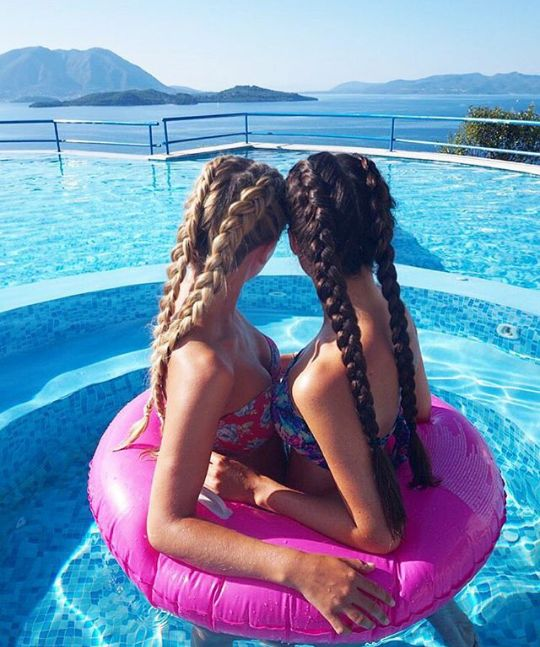 I was thinking we should do this! Then i thought bout both our fat a$$s getting stuck in there