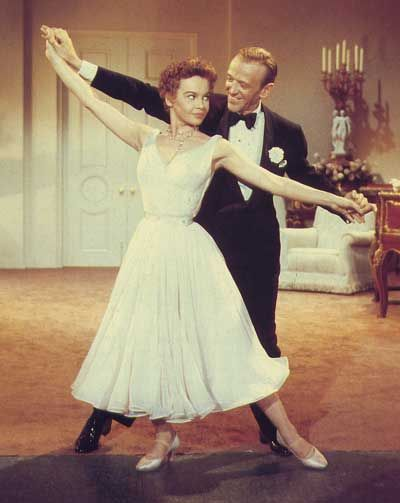 """Dream and Something's Gotta Give with Fred Astaire, Leslie Caron in """"Daddy Long Legs"""""""