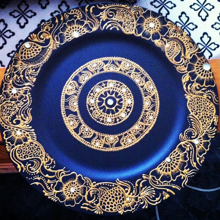 Decoration Of Mehndi Plates : Images about henna inspired tea lights on pinterest