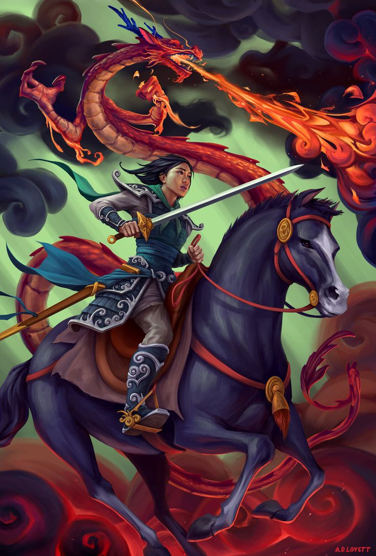 (Day 4) Mulan is my fave heroine! She did everything ...