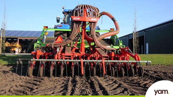 We hebben eerder laten zien waar we rekening mee houden als je glutenvrij haver zaait, maar hoe werkt de graanzaaier eigenlijk die het graan in de aarde plaatst?