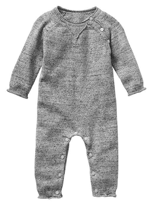 Heathered sweater one-piece Product Image