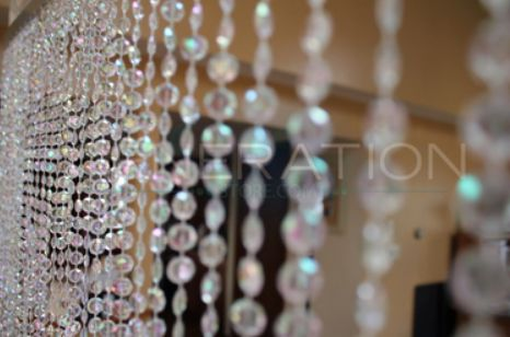 Beaded Curtains for Event & Wedding Decoration