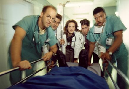 Set in the life and death setting of an emergency room.