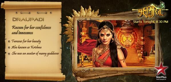 #Mahabharat is the story of Draupadi's disgrace. Do you think what happened with her was unfair?
