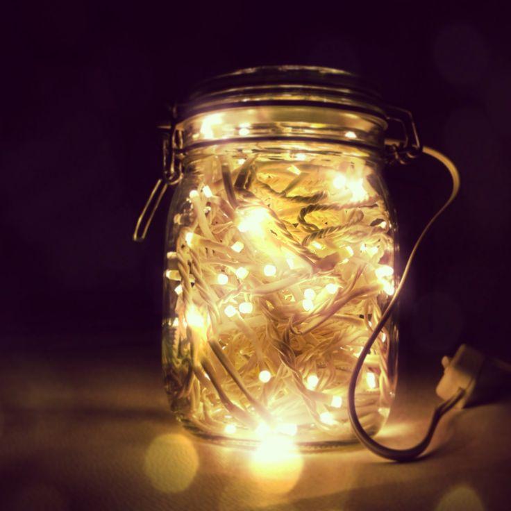Oltre 25 fantastiche idee su lampada barattolo su pinterest lampada in barattolo di vetro - Bottiglie vetro ikea ...