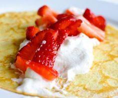 Un desayuno balanceado te ayuda al control de peso, a prevenir la diabetes tipo 2 y evita complicaciones de salud en pacientes diabéticos.: Crepas para un desayuno en familia