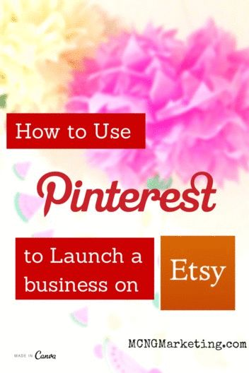 How to Start an Etsy Business Using Pinterest. Interview with Etsy Shop owner Julie Grandbois from Julie's Elegant Crafts on the Pictures to Profits Podcast. www.MCNGmarketing.com/use-pinterest-launch-etsy-business