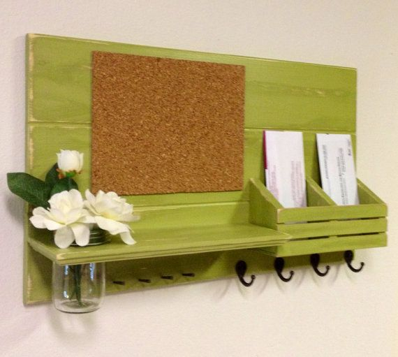 Best 25 mail sorter ideas on pinterest mail holder for Cork board with hooks