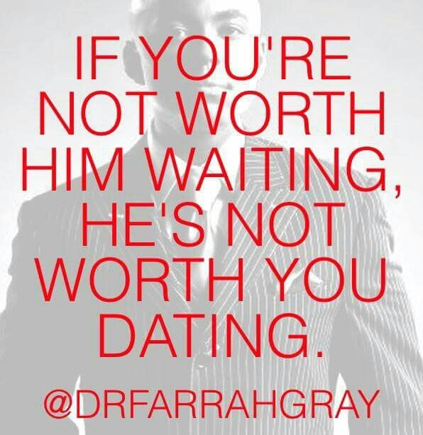 people arent worth dating
