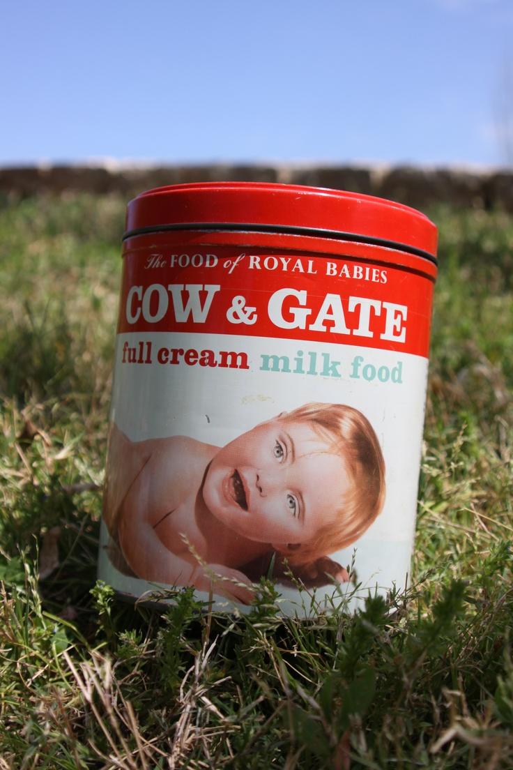 COW & GATE milk tin