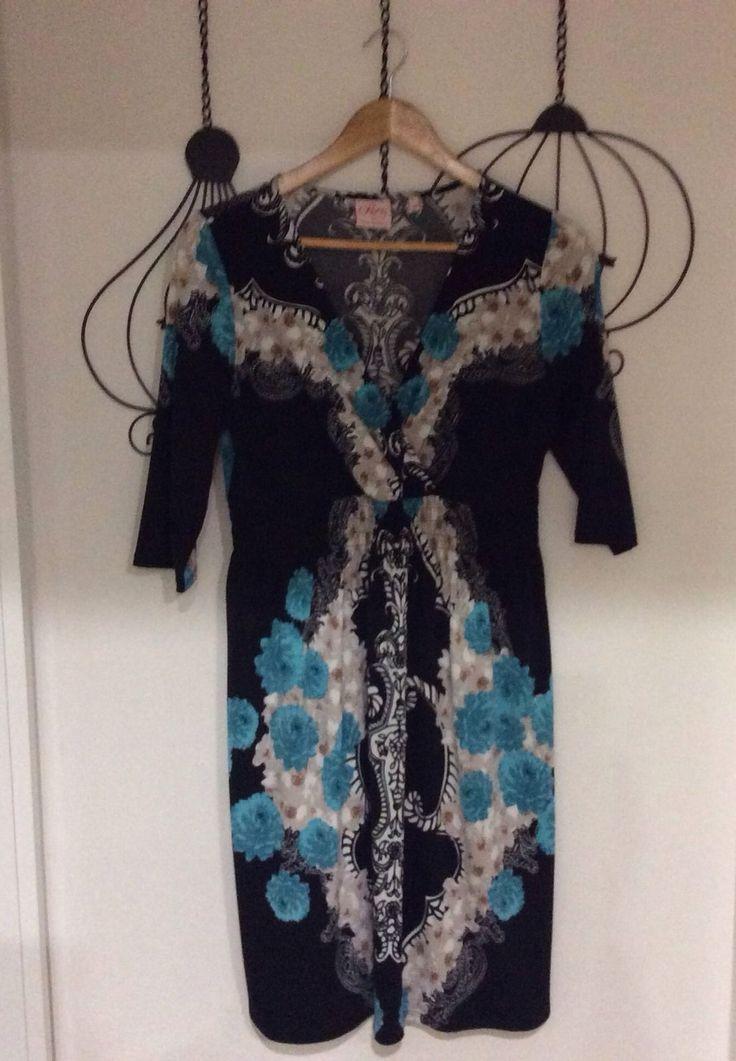 leona edmiston dress - sz 12 in Clothing, Shoes, Accessories, Women's Clothing, Dresses | eBay