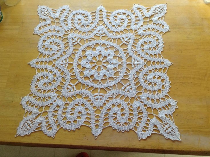 Bruges crochet lace. Pattern from Magic Crochet Magazine.