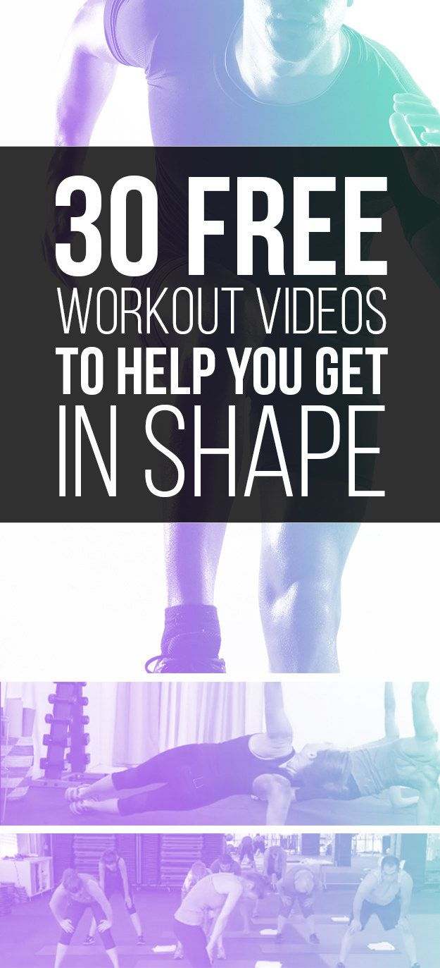 You don't need to work out for hours: These workouts are all 30 minutes or less…