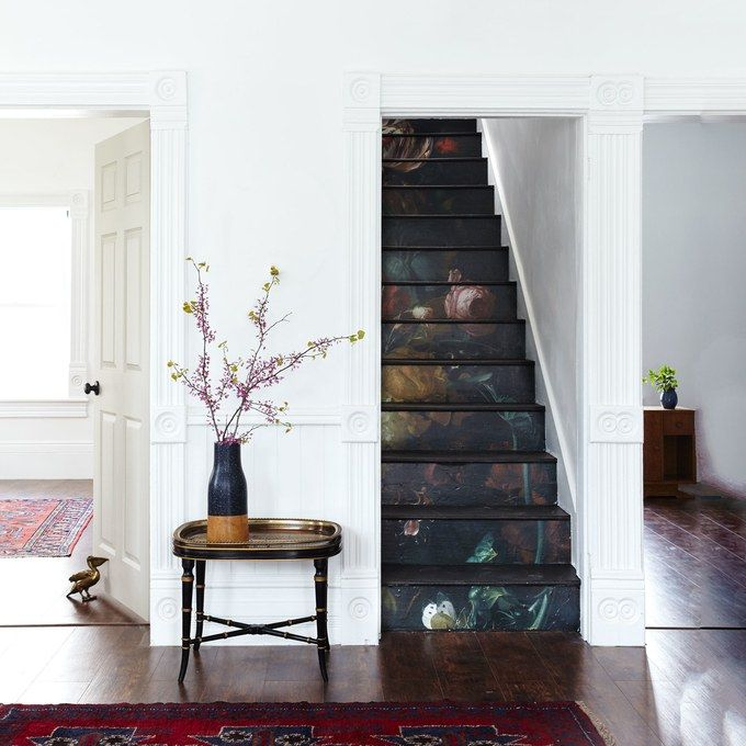 25+ Best Ideas About Painted Stairs On Pinterest