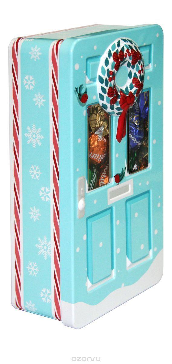 Купить Сладкая Сказка Рождественская дверь голубая шоколадные конфеты, 400 г в интернет-магазине OZON.ru